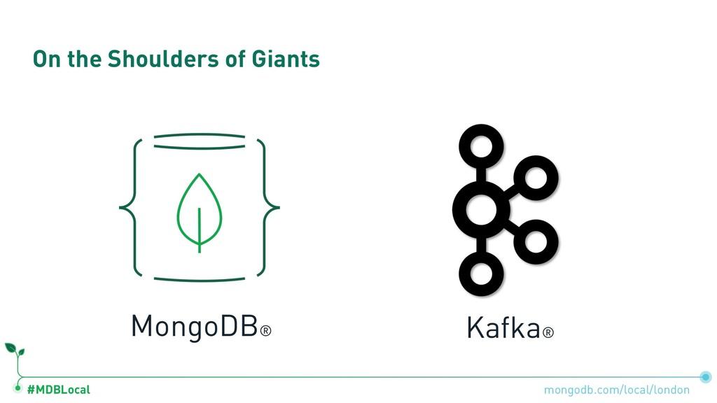 #MDBLocal On the Shoulders of Giants mongodb.co...