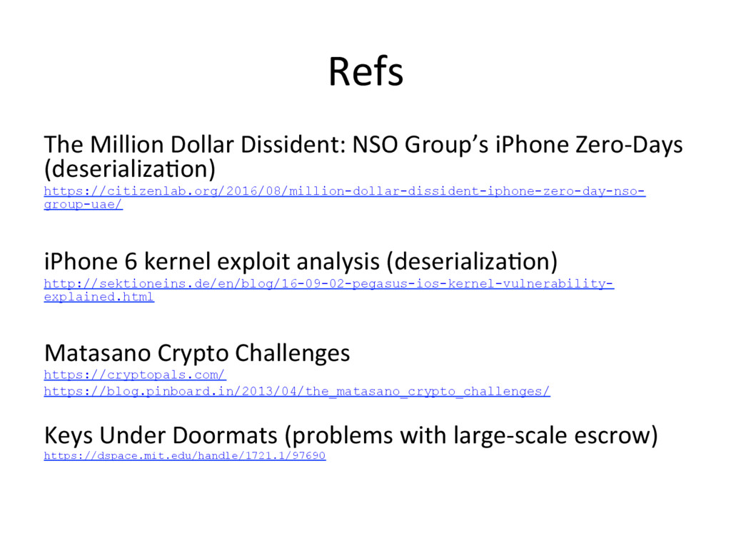 Refs The Million Dollar Dissident: NSO Group's ...