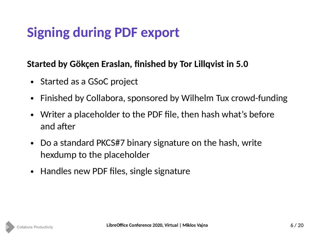 Collabora Productivity LibreOffice Conference 2...
