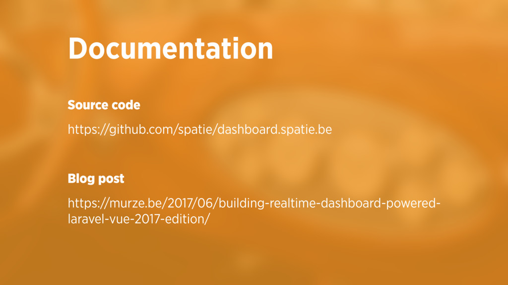 Source code https://github.com/spatie/dashboard...