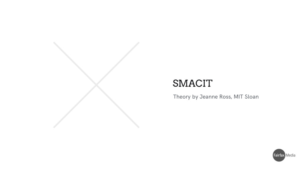Theory by Jeanne Ross, MIT Sloan SMACIT