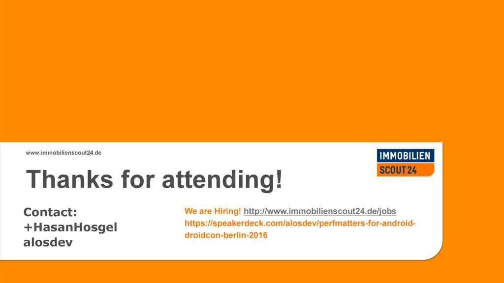 #DroidconDE www.immobilienscout24.de Contact: +...