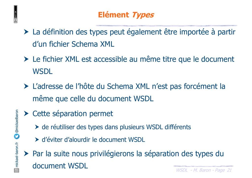WSDL - M. Baron - Page mickael-baron.fr @mickae...