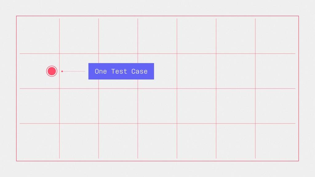 One Test Case