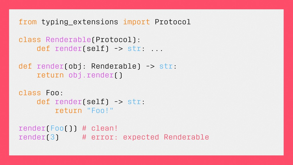 from typing_extensions import Protocol class Re...