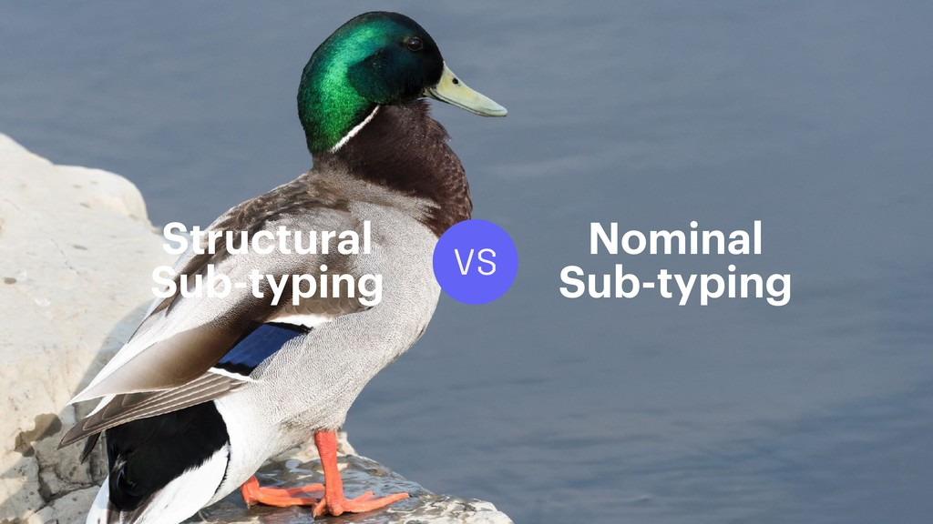 VS Structural Sub-typing Nominal Sub-typing