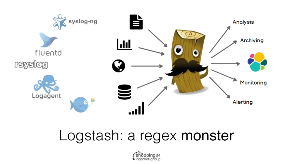 Logstash: a regex monster