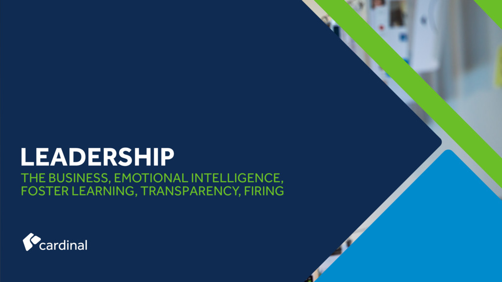 THE BUSINESS, EMOTIONAL INTELLIGENCE, FOSTER LE...