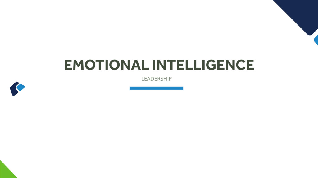 LEADERSHIP EMOTIONAL INTELLIGENCE