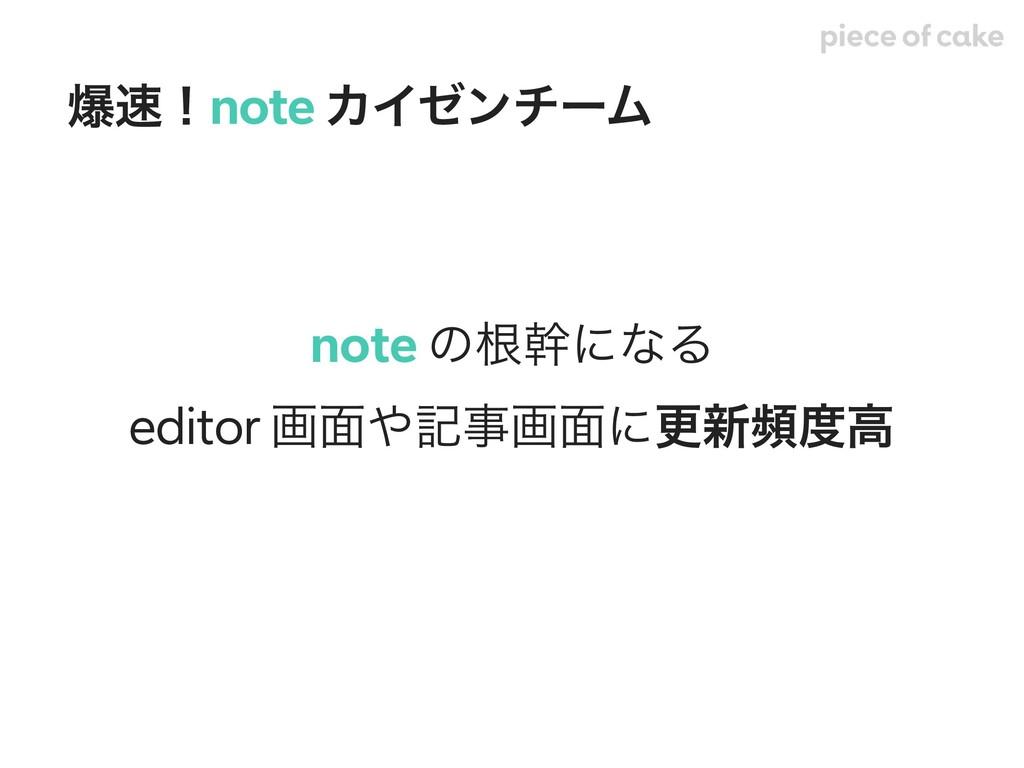note ͷࠜװʹͳΔ editor ը໘هը໘ʹߋ৽සߴ രʂnote ΧΠθϯνʔϜ