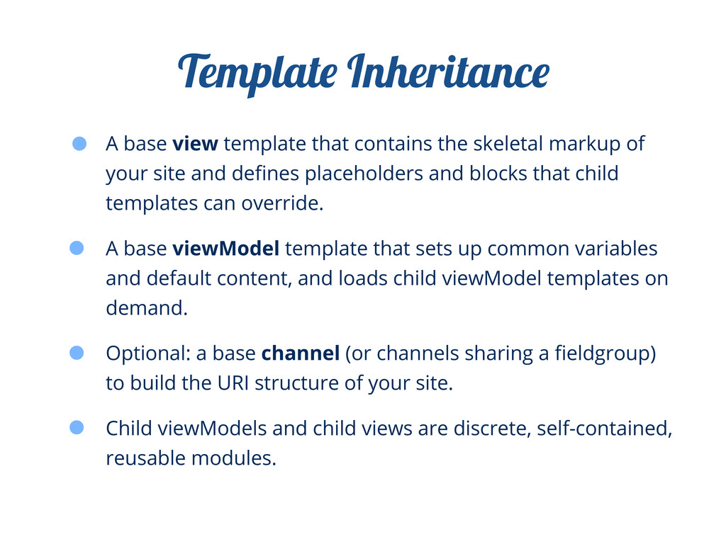 A base view template that contains the skeletal...