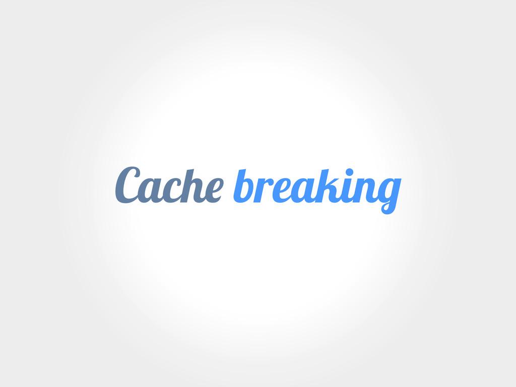 Cach breakin