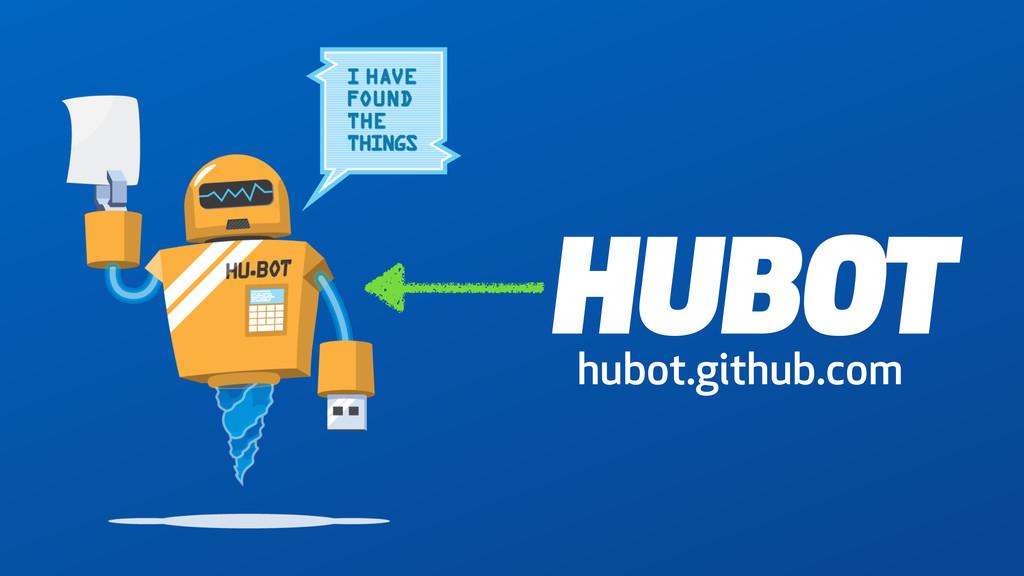 HUBOT hubot.github.com