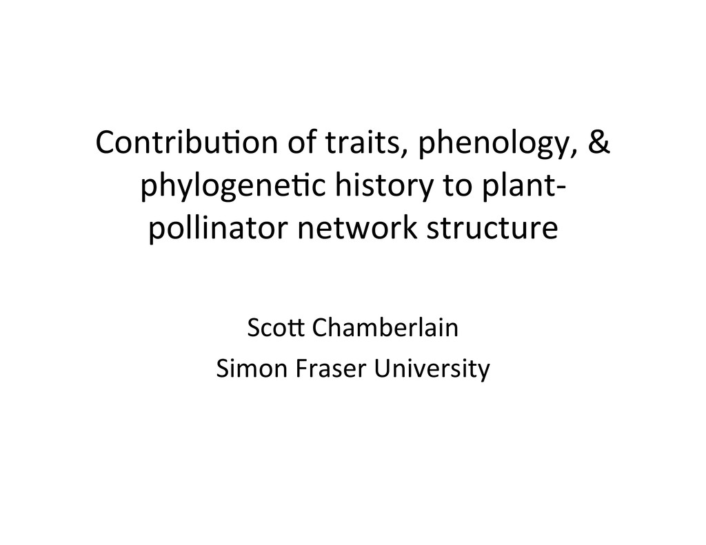 Contribu)on	