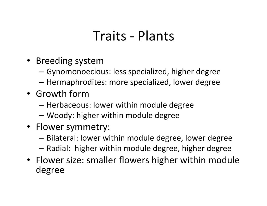 Traits	