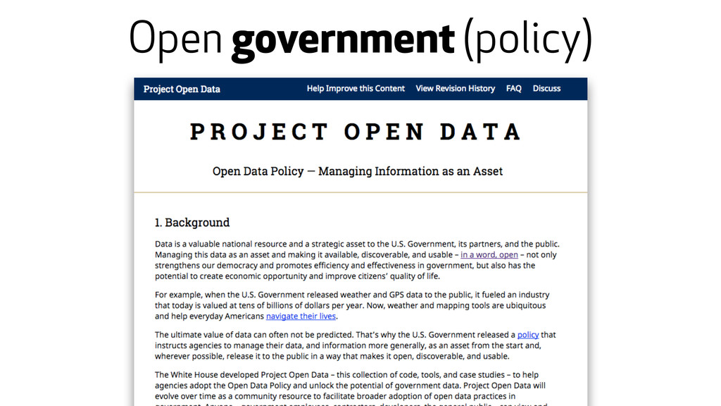 Open government (policy)
