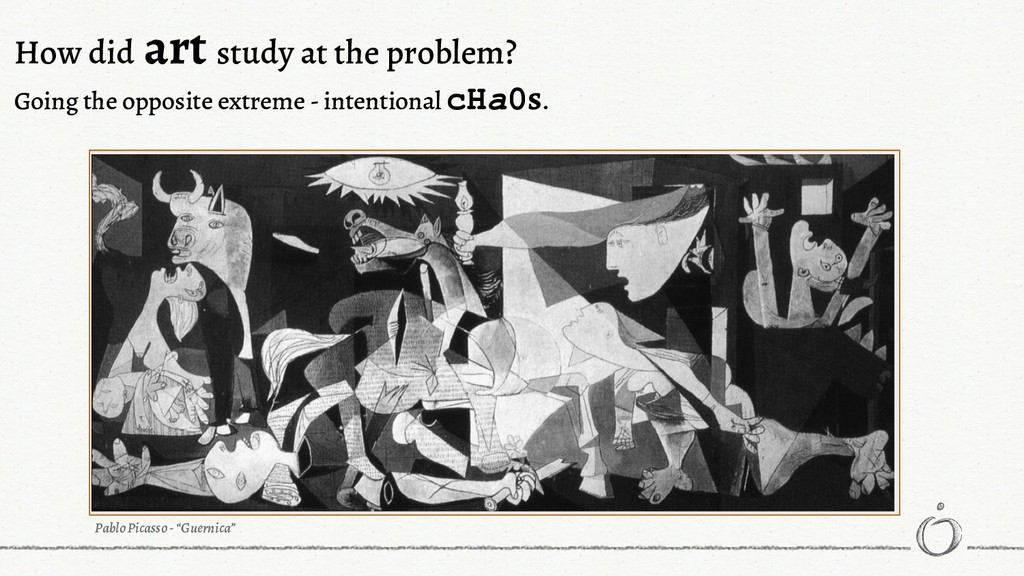 How did art study at the problem? Going the opp...