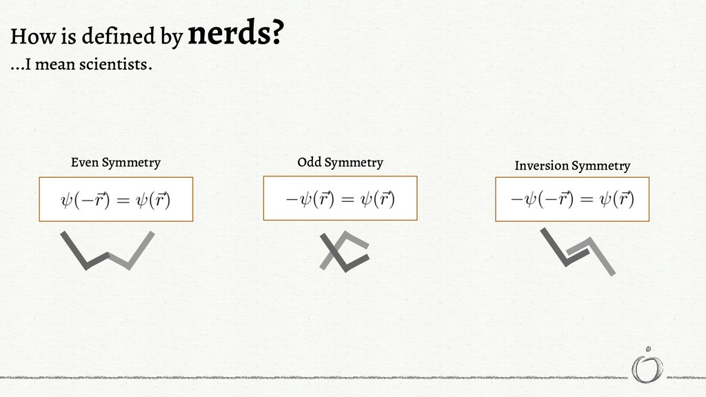 How is defined by nerds? ...I mean scientists. ...