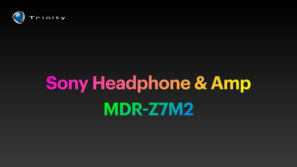 MDR-Z7M2 Sony Headphone & Amp