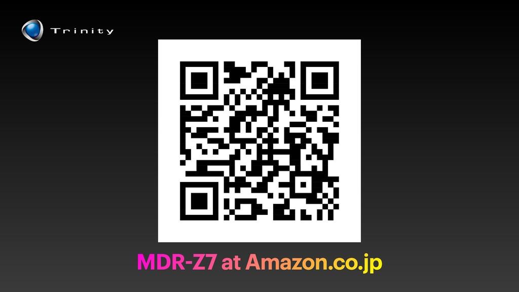 MDR-Z7 at Amazon.co.jp
