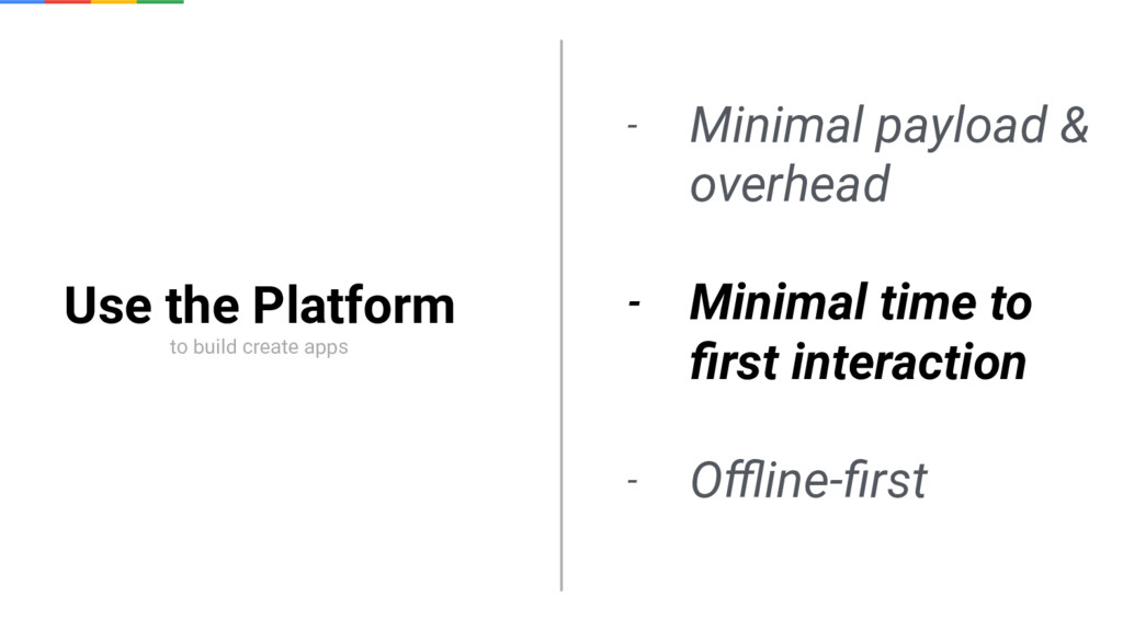 Use the Platform to build create apps - Minimal...