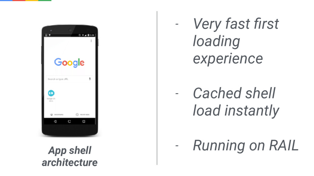 - Very fast first loading experience - Cached sh...