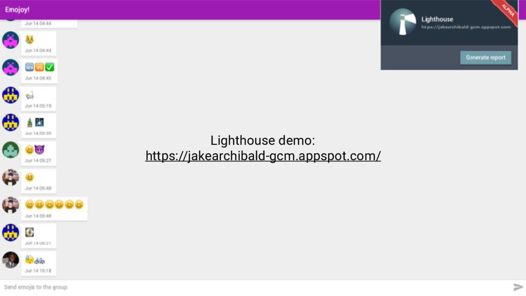 Lighthouse demo: https://jakearchibald-gcm.apps...