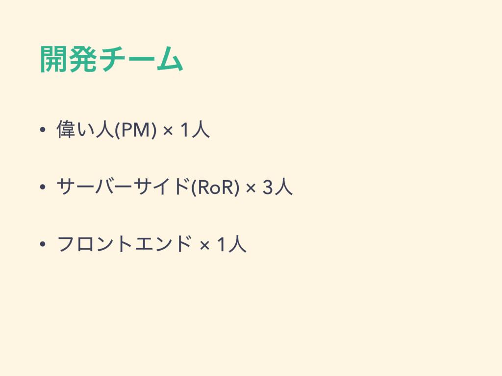 ։ൃνʔϜ • Ғ͍ਓ(PM) × 1ਓ • αʔόʔαΠυ(RoR) × 3ਓ • ϑϩϯτ...