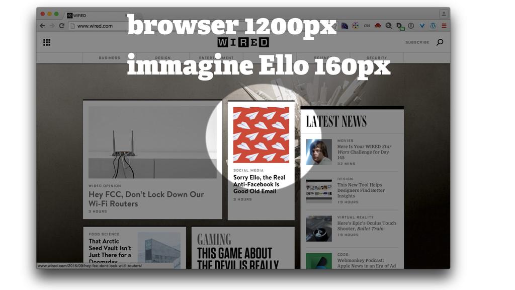 browser 1200px immagine Ello 160px