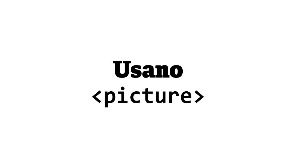 Usano <picture>