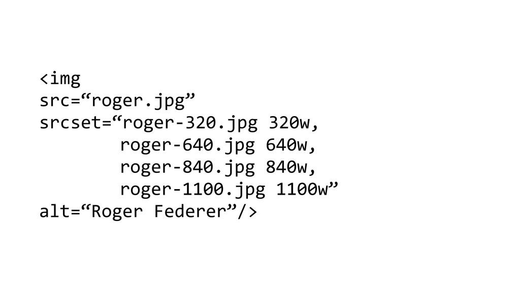 """<img   src=""""roger.jpg""""   srcset=""""ro..."""