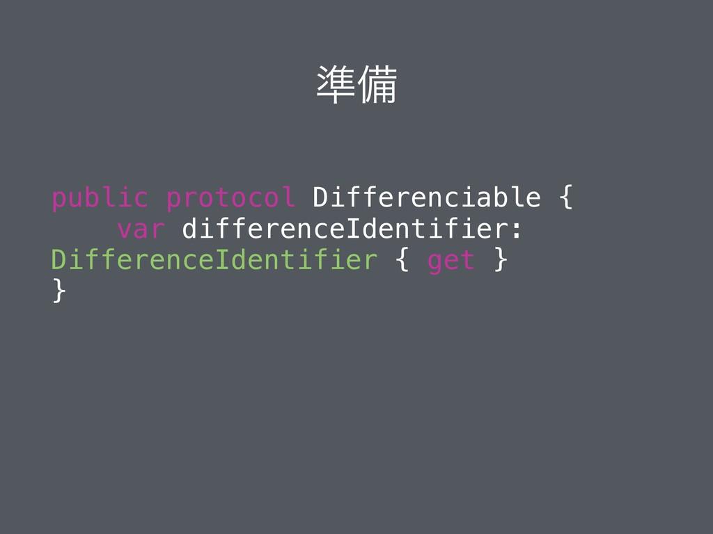 ४උ public protocol Differenciable { var differe...