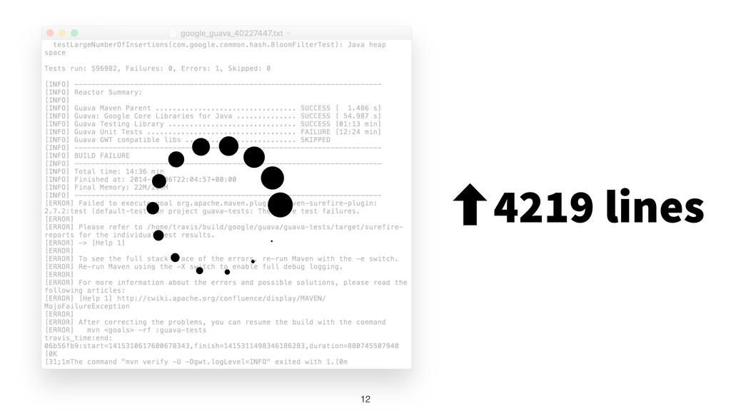 12 ‐4219 lines