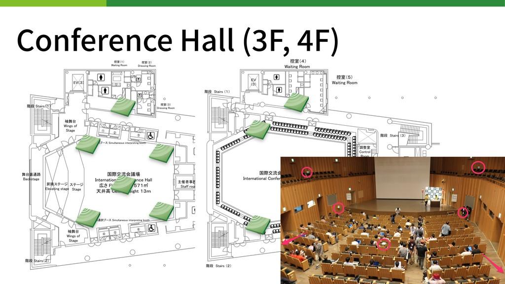 Conference Hall ( F, F)
