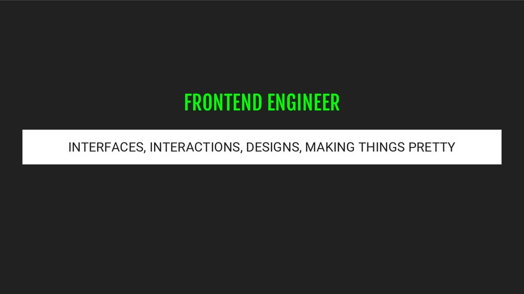 INTERFACES, INTERACTIONS, DESIGNS, MAKING THING...