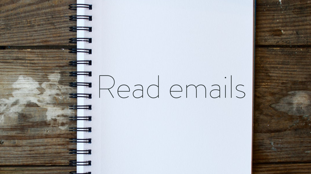Read emails