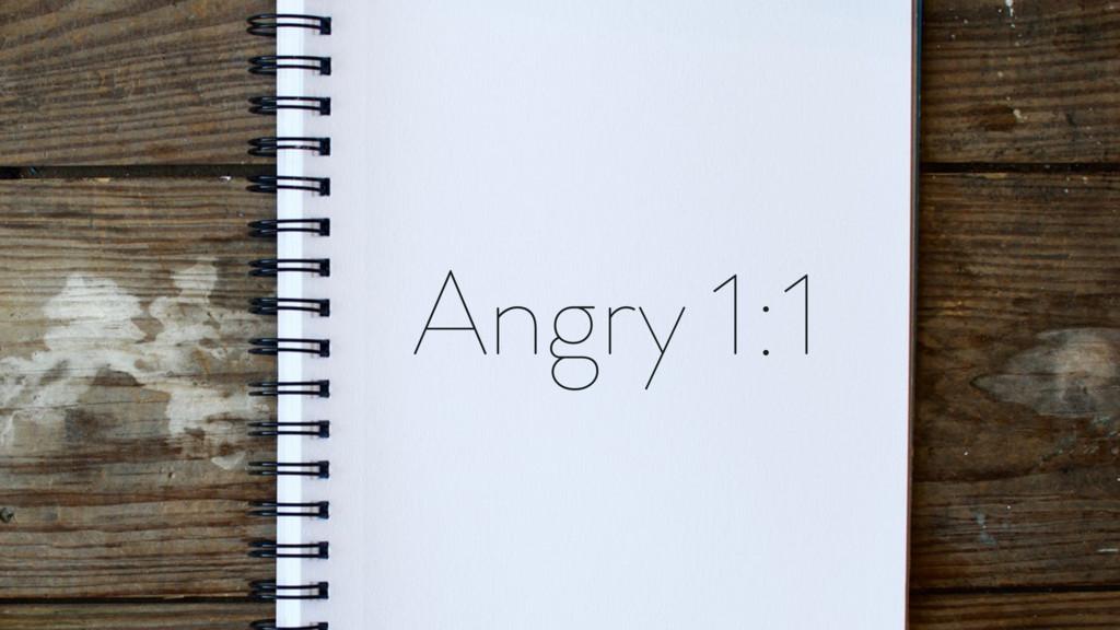 Angry 1:1