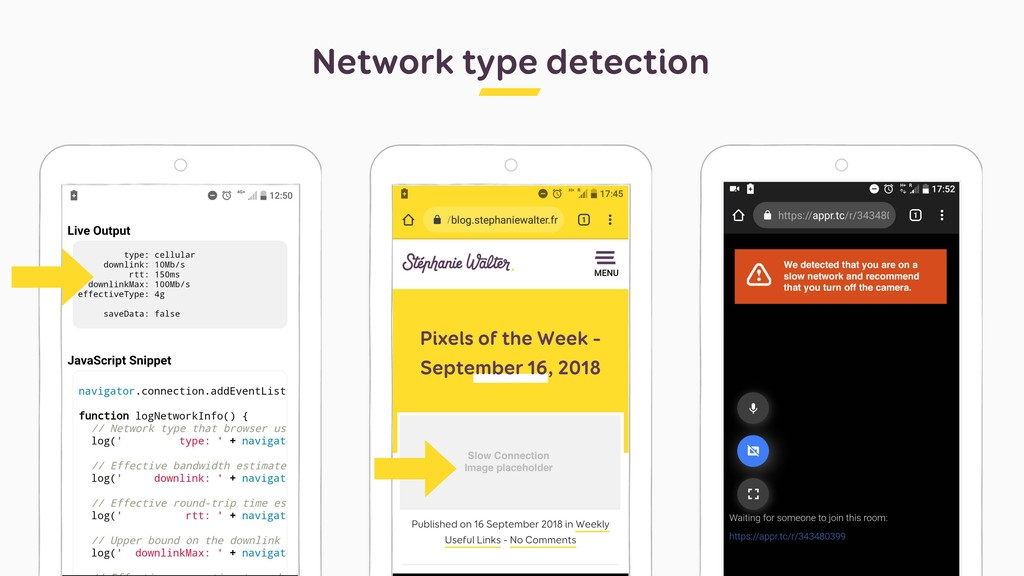 Network type detection