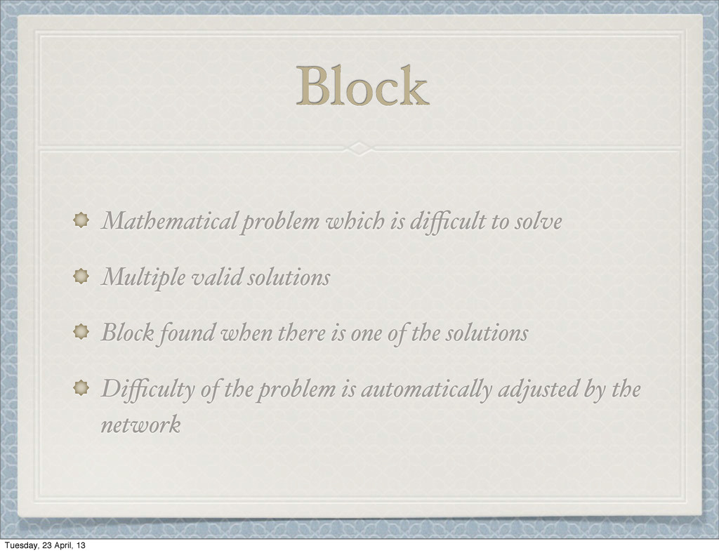Block Mathematical problem which is difficult to ...