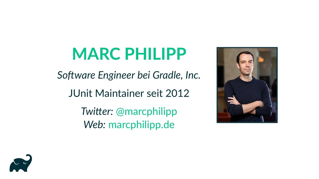 MARC PHILIPP So ware Engineer bei Gradle, Inc. ...