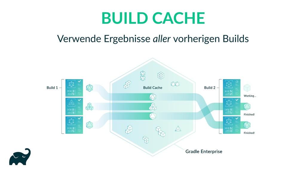 BUILD CACHE Verwende Ergebnisse aller vorherige...