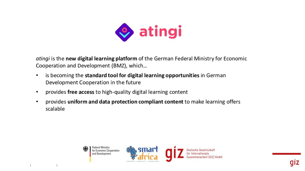 atingi is the new digital learning platform of ...