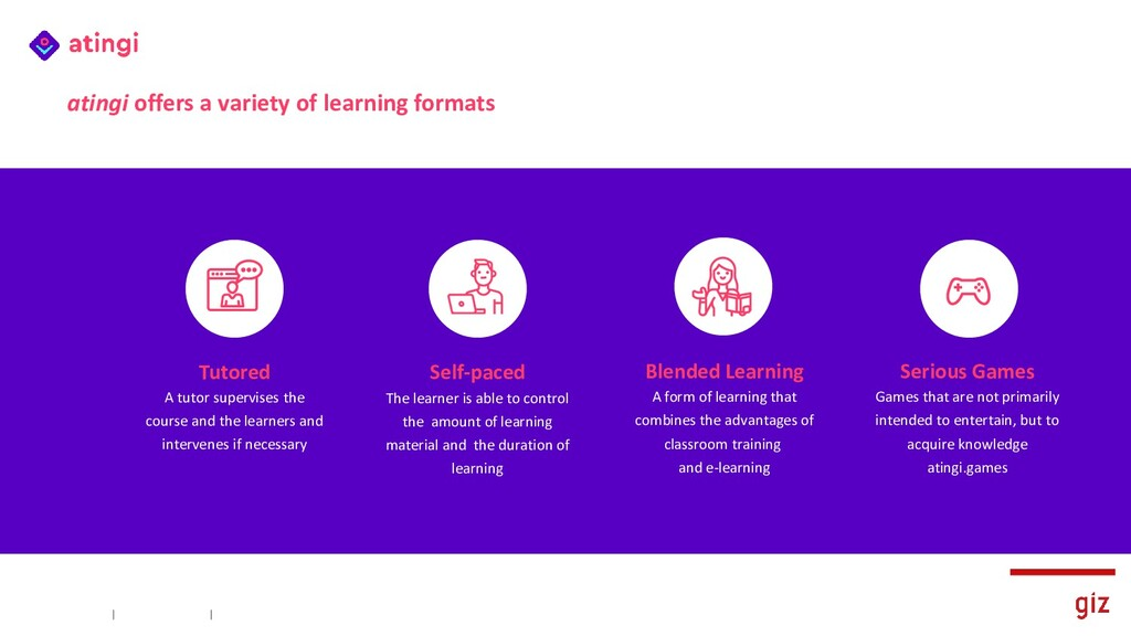 Blended Learning A form of learning that combin...