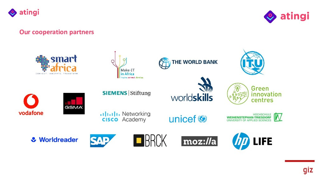 Our cooperation partners