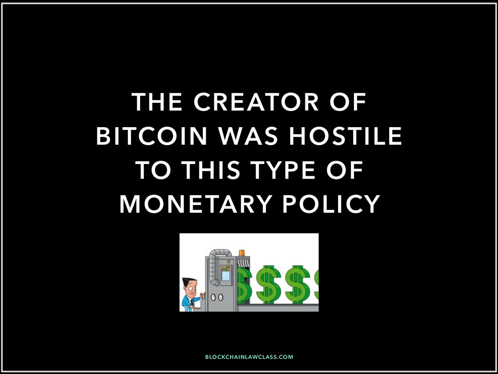 THE CREATOR OF BITCOIN WAS HOSTILE TO THIS TYPE...