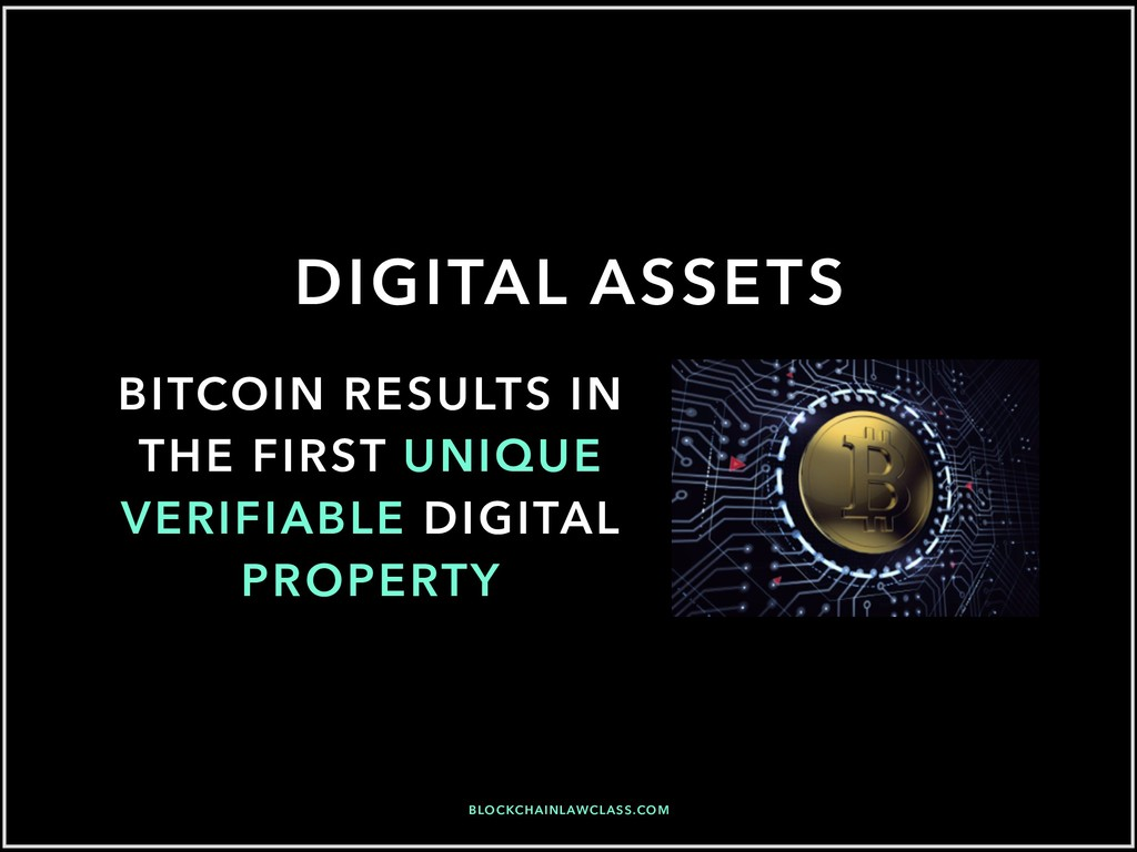 DIGITAL ASSETS BITCOIN RESULTS IN THE FIRST UNI...