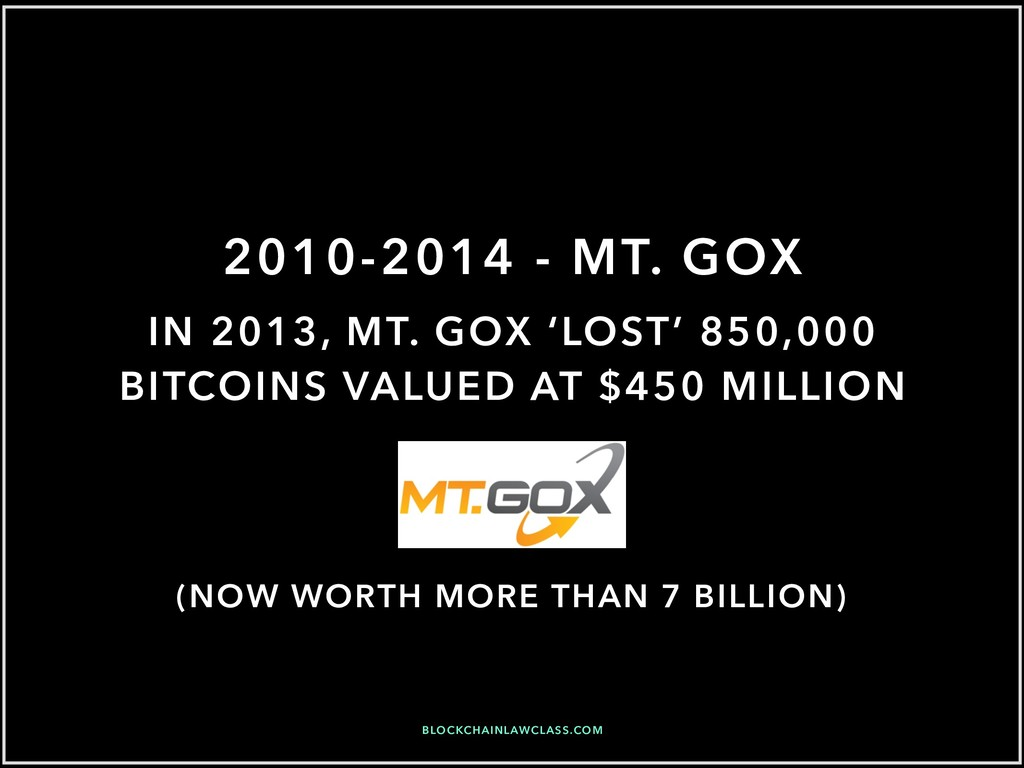 2010-2014 - MT. GOX BLOCKCHAINLAWCLASS.COM IN 2...