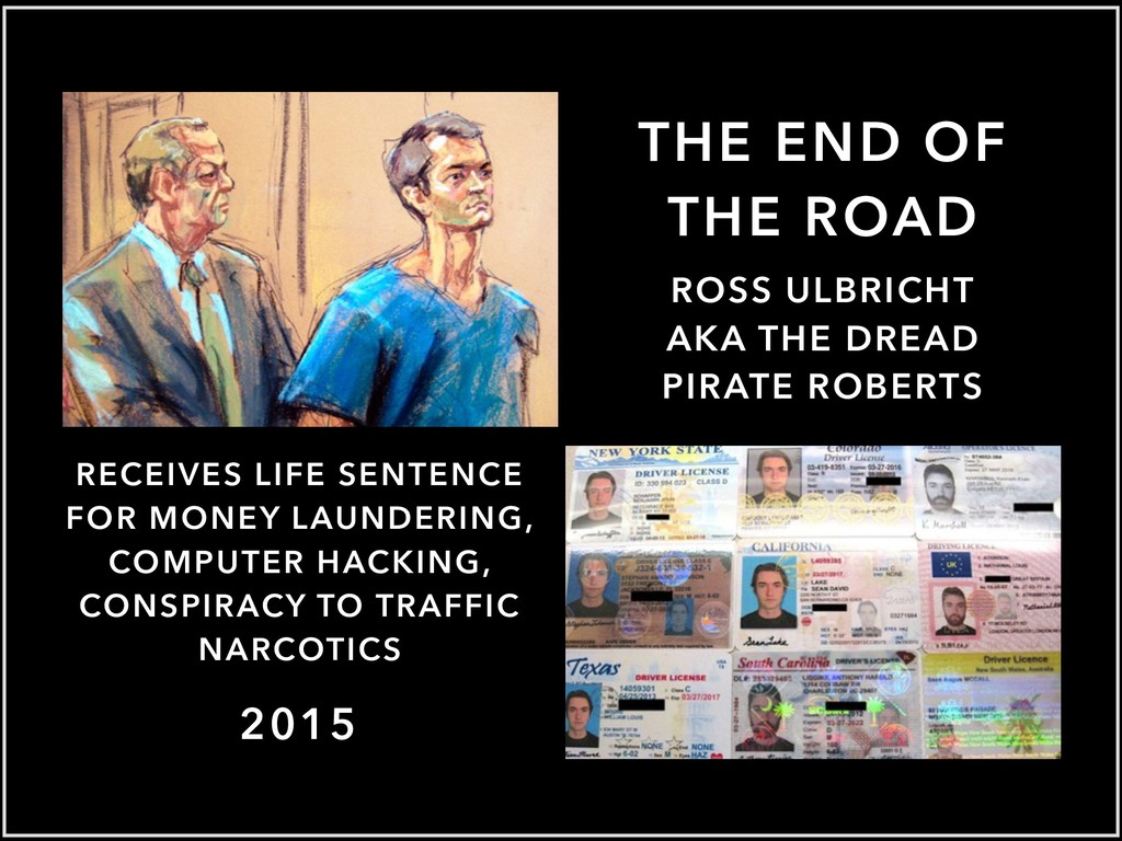 THE END OF THE ROAD 2015 RECEIVES LIFE SENTENCE...