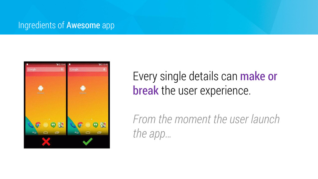 Ingredients of Awesome app Every single details...