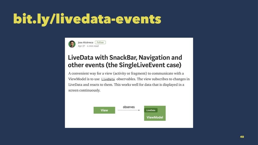 bit.ly/livedata-events 40
